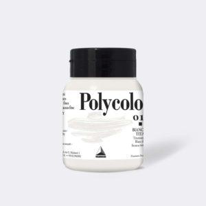 018 maimeri acrilico polycolor bianco di titanio
