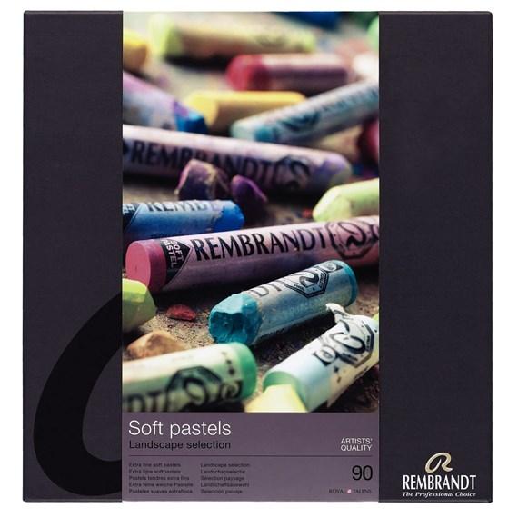 31823092203 Soft pastel rembrandt set 90